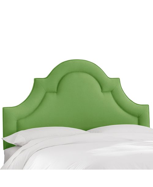 Martha Stewart Collection Whim Collection Salena Queen Arched Headboard