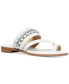 MICHAEL Michael Kors Bergen Toe Thong Flat Sandals