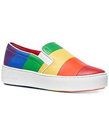 Dylan Rainbow Pride Slip-On Sneakers