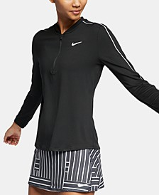 Women's Court Dry Half-Zip Tennis Top