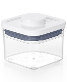 Pop Small Square Mini Food Storage Container