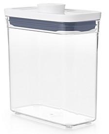 Pop Slim Short Rectangular Food Storage Container
