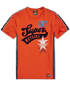 Superdry Men's Podium Textured Logo Graphic T-Shirt