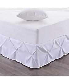 Hudson Pintuck Ruffled Full Bedskirt