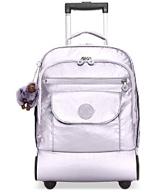 Kipling Sanaa Metallic Rolling Backpack