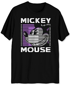 Disney Mickey Mouse Smile Men's Graphic T-Shirt