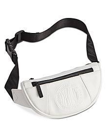 DKNY Embossed Logo Faux Leather Belt Bag