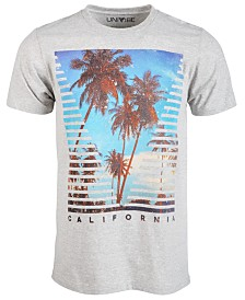 Univibe Men's Venice Views Graphic T-Shirt