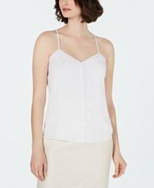 Calvin Klein Button-Down Camisole