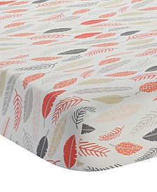 Family Tree 100% Cotton Baby Fitted Crib Sheet