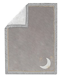 Signature Goodnight Giraffe Moonbeams Minky Celestial Baby Blanket