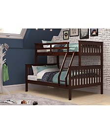 Twin Over Full Mission Bunk Bed