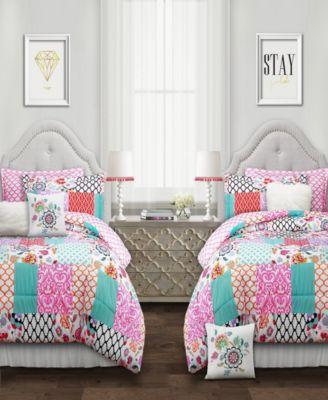 Brookdale Patchwork 5-Pc. Twin XL Comforter Set