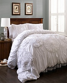 Serena 3Pc King Comforter Set
