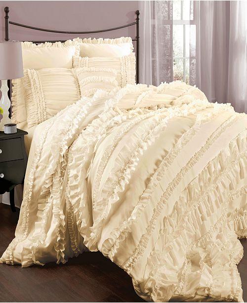 Lush Decor Belle 4-Pc. King Comforter Set