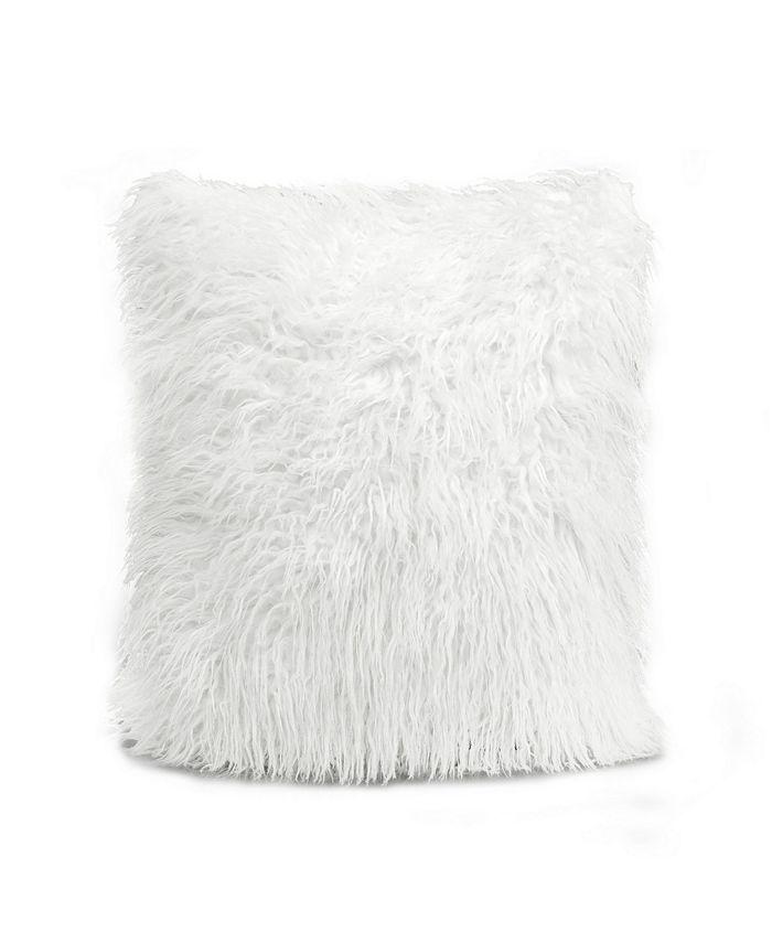 Lush Décor - Luca Decorative Pillow White Single 18x18