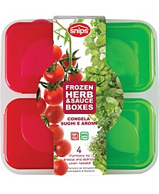 Frozen Sauce and Herb Boxes (4 Piece Set)