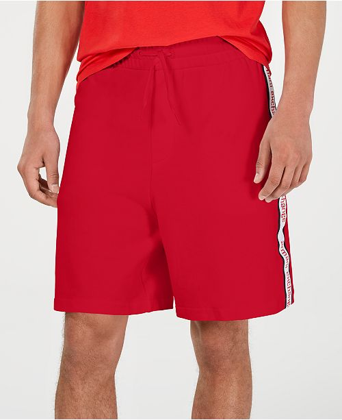 A|X Armani Exchange Men's Logo Side-Tape Shorts Created For Macy's