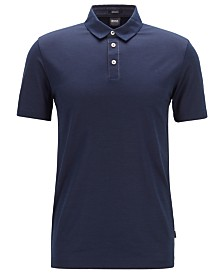 BOSS Men's Press 37 Regular-Fit Cotton Polo Shirt
