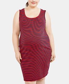 Motherhood Maternity Plus Size Ribbed Dress