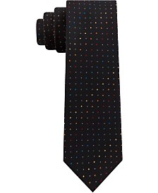 Kenneth Cole Reaction Men's Pride Pindot Skinny Tie