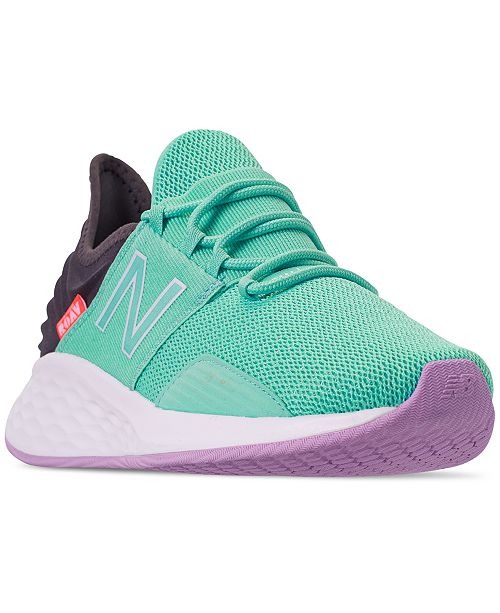 cb50116f5198a ... New Balance Women's Fresh Foam Roav Running Sneakers from Finish ...