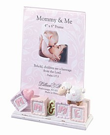 Mommy and Me Baby Picture Frame Little Lamb