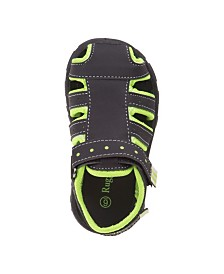 Rugged Bear's Every Step Closed Toe Sandals
