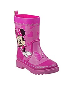 Disney Minnie Mouse's Every Step Rain Boots