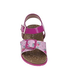 Every Step Flower Cork Lining Sandals