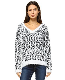 Women's Leopard Sweater