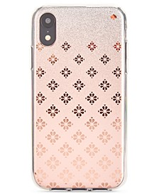 Spade Flower Ombre iPhone XR Case