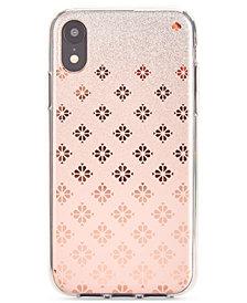 kate spade new york Spade Flower Ombre iPhone XR Case