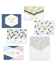 Geo Shapes Note Cards Assortment