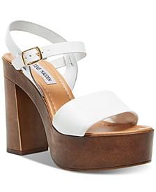 Women's Laurisa Wood Platform Sandals