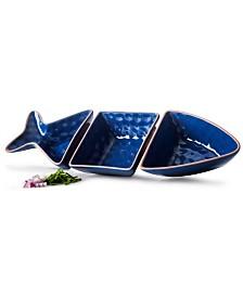 Sagaform Fish Shaped Serving Set