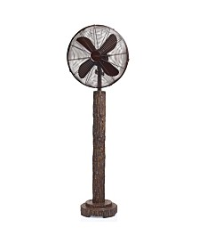 DecoBreeze Fir Bark Floor Fan