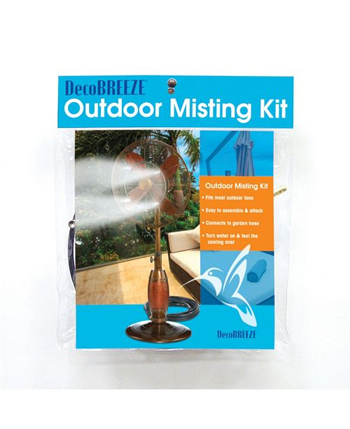 DecoBreeze Outdoor Fan Misting Kit