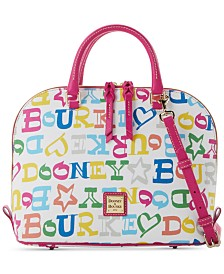 Dooney & Bourke Novelty Zip Zip Satchel