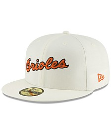 New Era Baltimore Orioles Vintage World Series Patch 59FIFTY Cap
