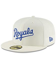 Kansas City Royals Vintage World Series Patch 59FIFTY Cap