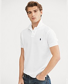 Men's Custom Slim-Fit  Mesh Polo Shirt