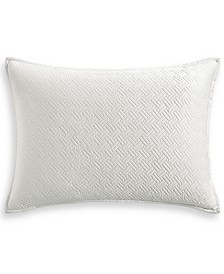 Hotel Collection Classic Botanical Toile Quilted King Sham, Created for Macy's