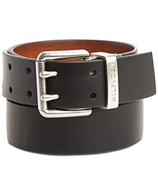 Men's Reversible Double-Prong Casual Belt