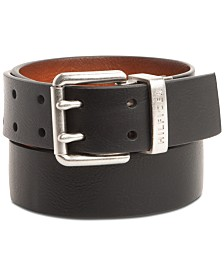Tommy Hilfiger Men's Reversible Double-Prong Casual Belt