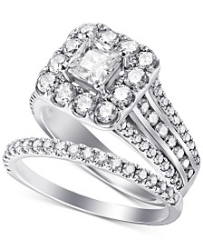Diamond Bridal Set (2-1/2 ct. t.w.) in 14k White Gold