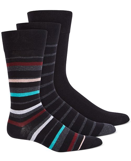 Steve Madden Men's 3-Pk. Crew Socks