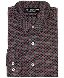 Nick Graham Men's Medallion-Print Shirt