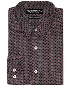 Nick Graham Men's Medallion-Print Shirt