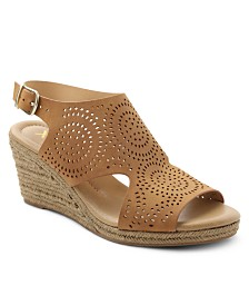 XOXO Summerdale Espadrille Wedge Sandals